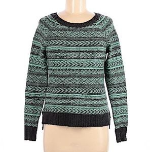 American Eagle outfitters gray green sweater